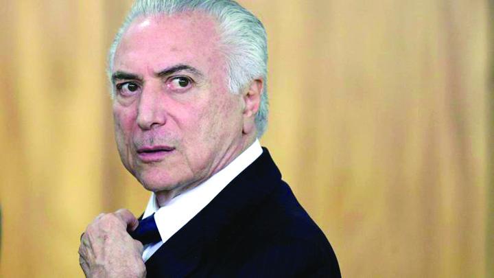 brazilia Presedintele Braziliei, acuzat oficial de coruptie