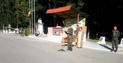 ceremon Militarii morti in Arges, comemorati in Capitala si la Batalionul 30 Vanatori de Munte (VIDEO)