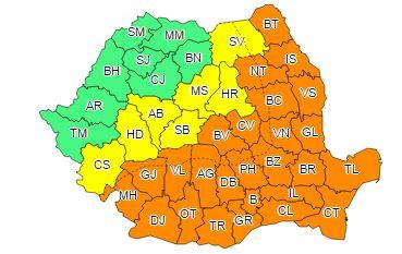 cod 2canicula Urmeaza zile de foc, de COD PORTOCALIU, inclusiv in Bucuresti