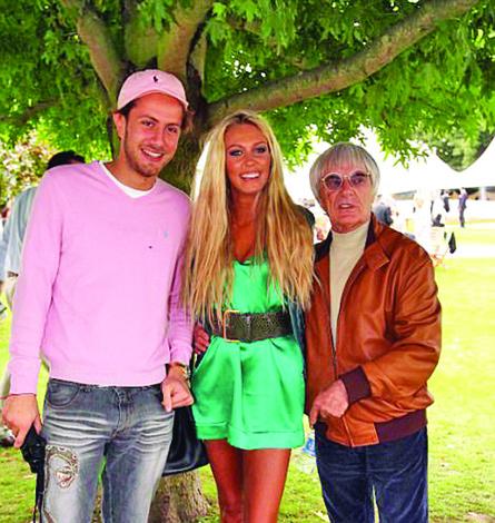 cuplul cu Bernaaie Divortul Petrei  Ecclestone va fi cel mai scump din istorie
