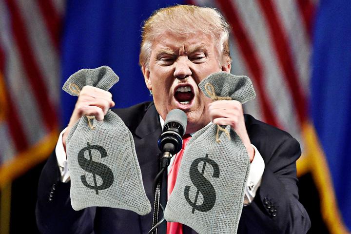 donald trump bani Declaratia de avere a lui Trump are 98 de pagini!