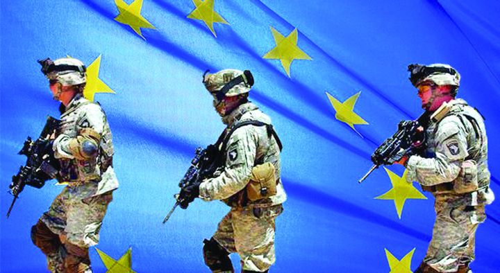 europa Iohannis imbraca haina militara!