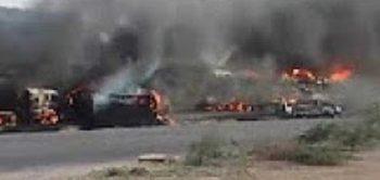 expl 350x166 Carnagiu in urma unei explozii. Peste 120 de morti, in Pakistan