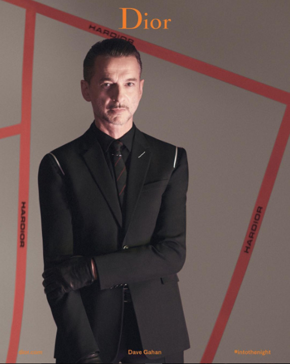 gahan Dave Gahan, noua imagine Dior