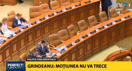 grin 1 Imagine atipica: Grindeanu, alaturi de un singur ministru in prezidiul de la Parlament