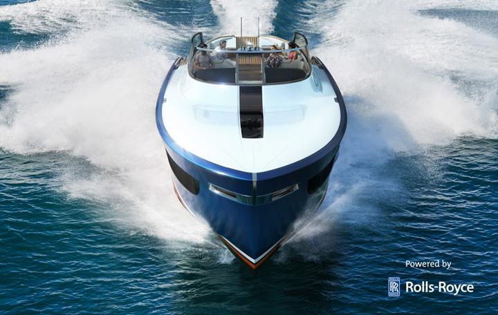 iaht1 Aeroboat S6, un iaht de la Rolls Royce