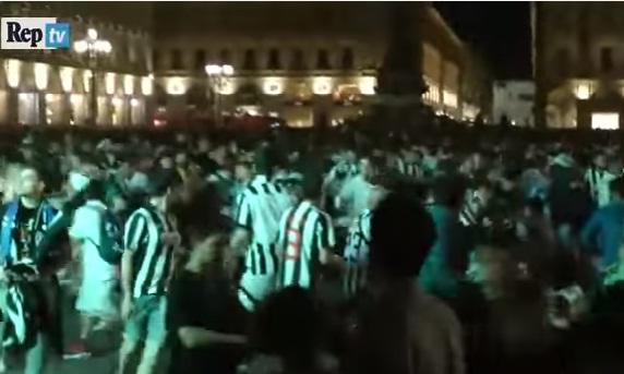 iincid 1 Panica. Peste 1.500 de oameni pe mana medicilor, dupa o busculada la Torino!