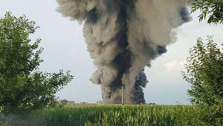 incendiu balotesti main 97070800 Focul care arde banii lui Valvis si ai Postei Romane