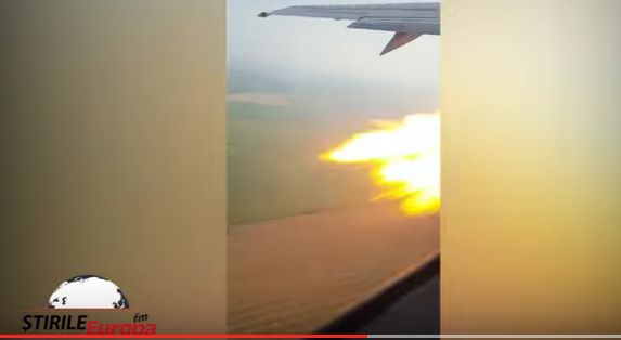 incid 2 Momentul ce a dus la aterizarea de urgenta pe Otopeni, surprins in imagini (VIDEO)