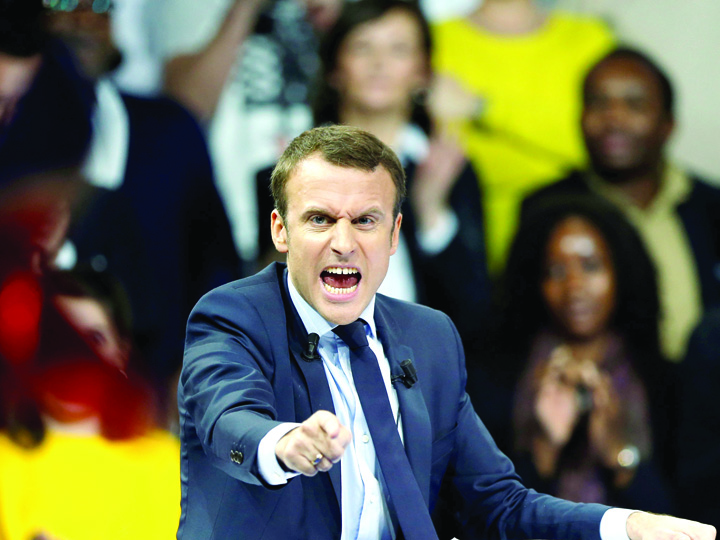 macron Macron ia totul