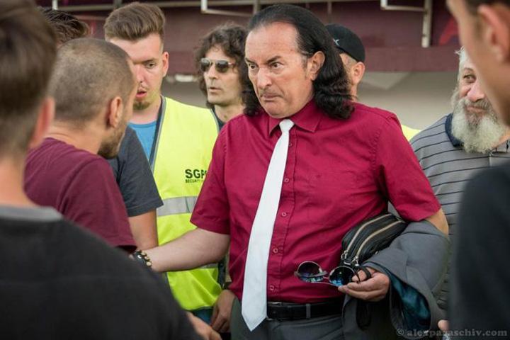 miron cozma foto alexparaschiv.com  Scandal cu Miron Cozma de Ziua Rapidului