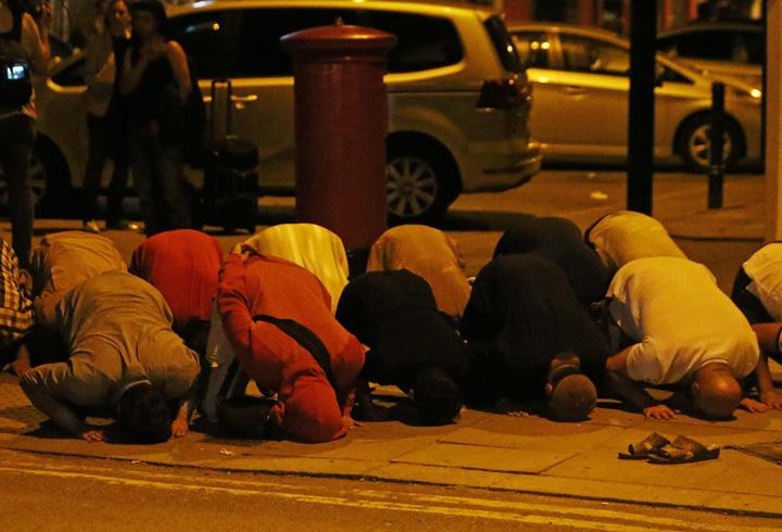 musulmani 1 Musulmani atacati la Londra