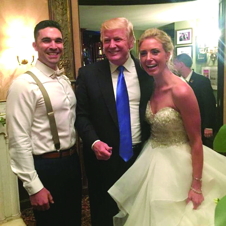 nunta Donald Trump , anchetat la venituri