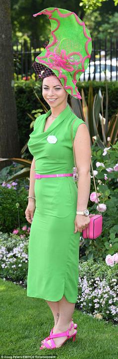palarie 3 Kate, cam transparenta la Royal Ascot 2017