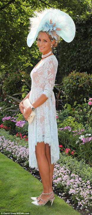 palarie Kate, cam transparenta la Royal Ascot 2017