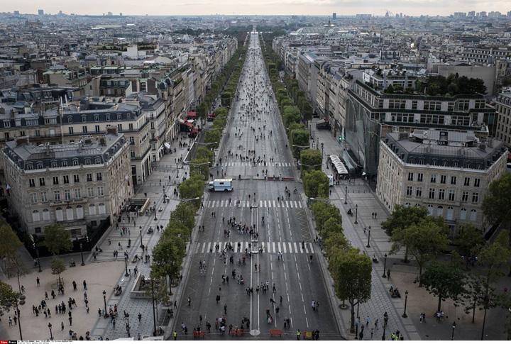 """paris 2 Paris: """"Ziua fara masina"""""""
