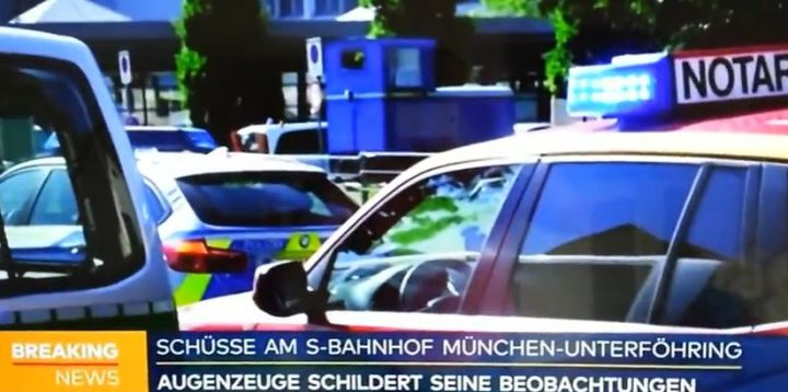 poli 720x358 Incident armat intr o statie de metrou germana: politista impuscata (VIDEO)