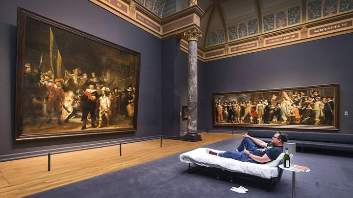 rembrandt O noapte cu Rembrandt