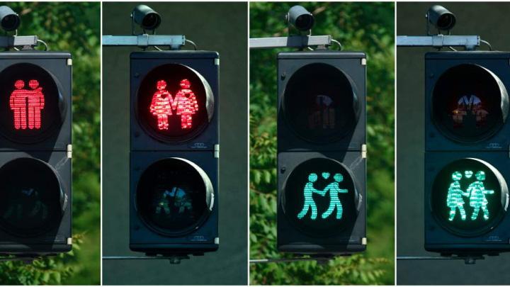 semafoare Semafoarele gay