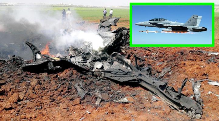 siria Premiera, SUA doboara un avion sirian