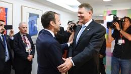 small intalnire cu presedintele frantei   23 iunie 2017 1 Iohannis, dupa discutia cu presedintele Frantei: Am abordat multe teme foarte importante pentru noi