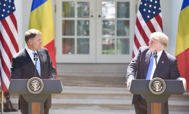 small primirea de catre presedintele sua donald trump 19 Liderul american: Sprijinim lupta anticoruptie si pe presedintele roman
