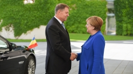 small vizita in germania   19 iunie 2017 5 Discutii cu Angela Merkel. Iohannis: Romania este o tara stabila, cu economie functionala