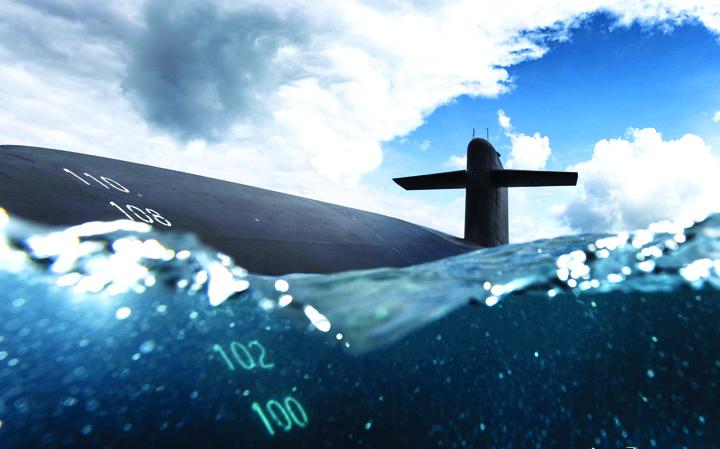 submarin Cu nasul intr un submarin nuclear