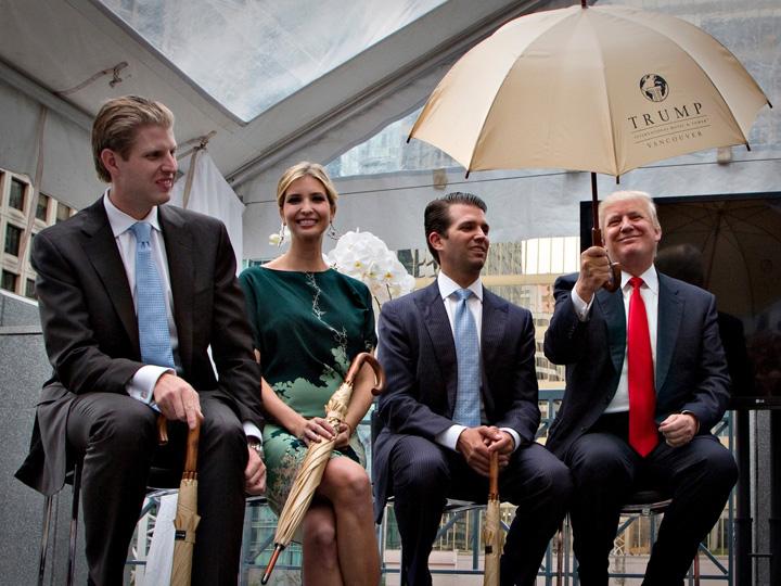 trump hotel bun Fii lui Trump fac hoteluri patriotice