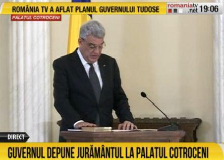 tud11 Premierul Mihai Tudose si ministrii, la Cotroceni. Noul Guvern a depus juramantul