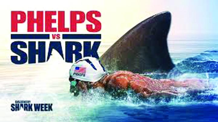 1 2 Michael Phelps a pierdut intrecerea cu un rechin!