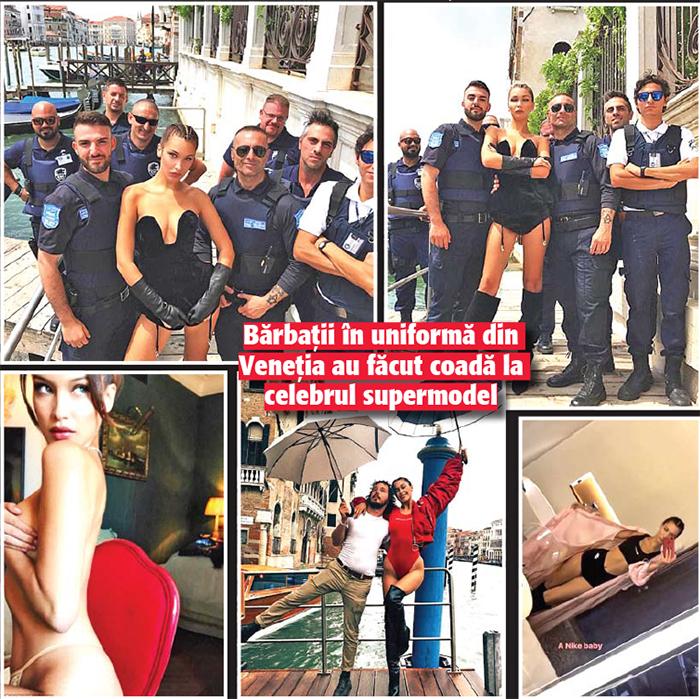 14 15 Bella Hadid a incins politia italiana