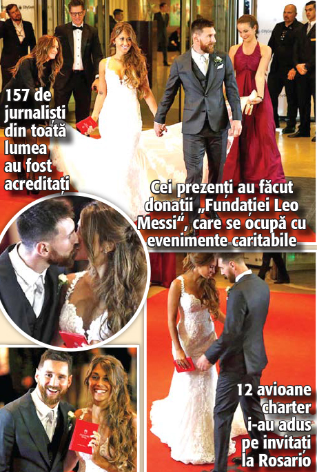 14 aaa15 Messi s a casatorit pazit de 450 de politisti si bodyguarzi