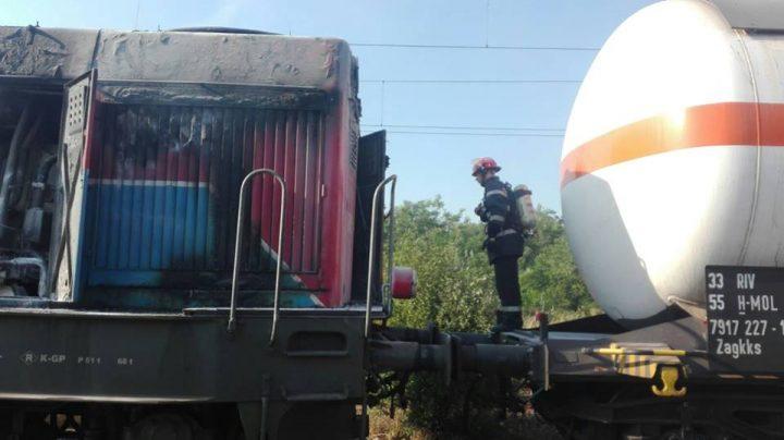 20155969 1627889200609406 901781566575500929 n incendiu 720x404 Persoane evacuate dintr o gara, pe fondul unui incendiu la o locomotiva ce tracta cisterne cu butan