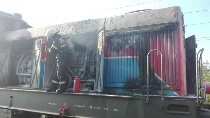 20228745 1627889197276073 3126316295959676556 n incendiu 720x404 Persoane evacuate dintr o gara, pe fondul unui incendiu la o locomotiva ce tracta cisterne cu butan