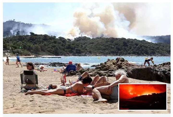 20403811 829673987198603 1440314452 n Dincolo arde, smecherii de la St. Tropez stau la plaja!