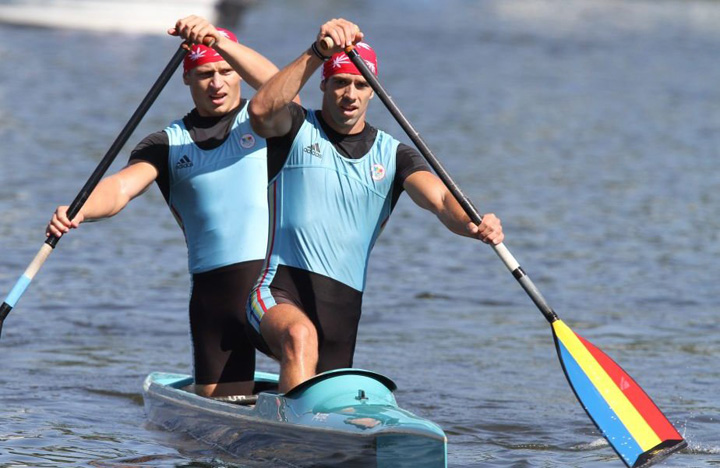 728580 dumitrescu mihalachi Kaiac canoe: Carp si Mihalachi, vicecampioni europeni