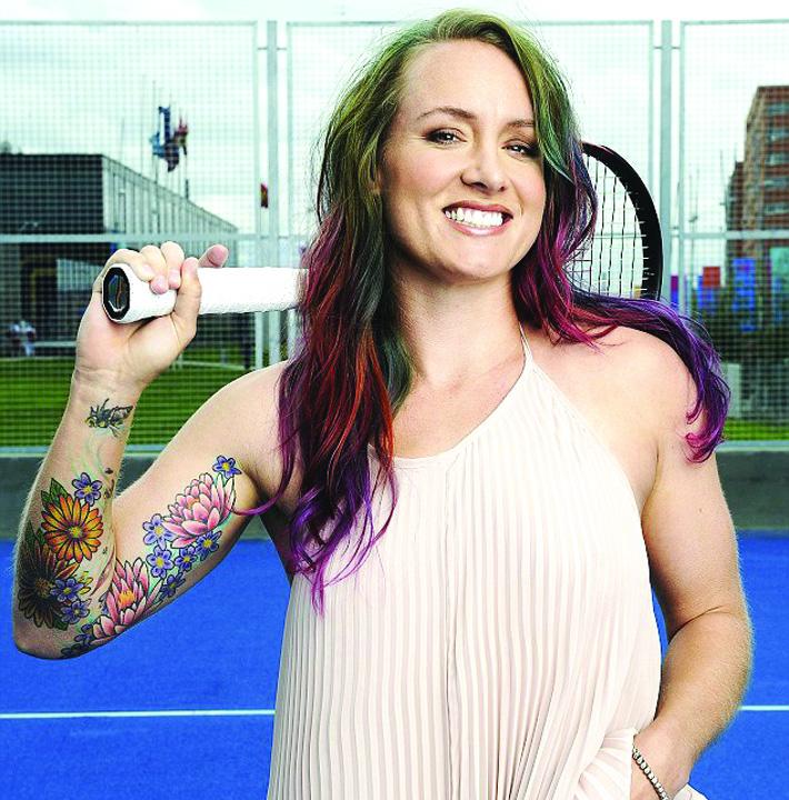 Bethanie Mattek Sands Tatuajele fac senzatie la Wimbledon