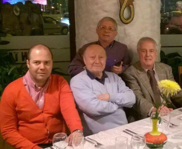 Gheorghe Berceanu Sorin Satmari Marin Moraru si Razvan Ioan Boanchis 609x500 A murit Sorin Satmari. Jurnalistul lucrase la FRF si LPF