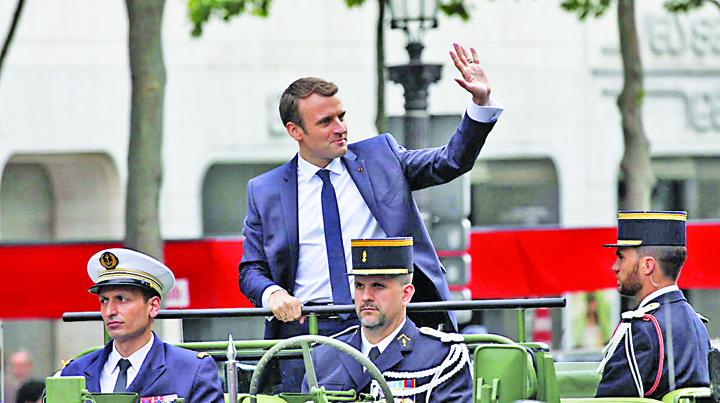 MACRON Voia sa l omoare pe Macron, de Ziua Frantei