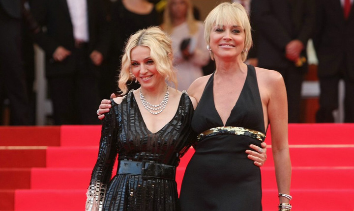 Madonna si Sharon Stone Scandalul divelor  trecute