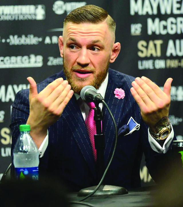 Mc Gregor 1 Prima runda dintre Mayweather si McGregor a fost castigata de irlandez