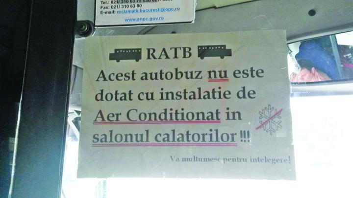 RATB Aer Conditionat Dna Firea, cand vin autobuzele promise?