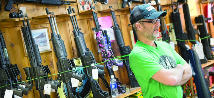 arme Orasul unde armele sunt obligatorii