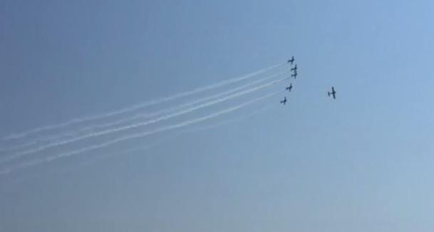 avia VIDEO. A fost spectacol pe cerul Capitalei. Imagini de la show ul aviatic de la Baneasa