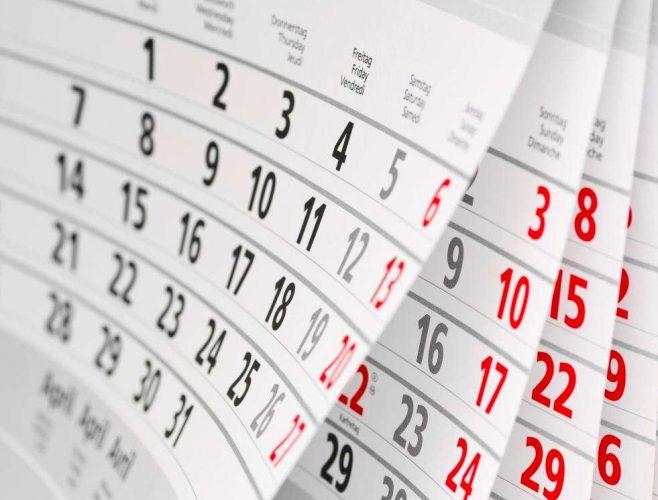 calend 658x500 Ziua de 14 august e libera, in acest an, pentru bugetari