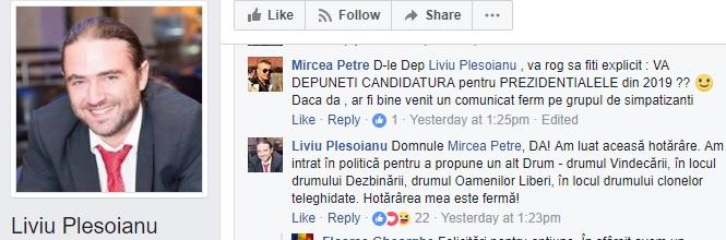 candideaza Un deputat PSD si a anuntat deja intentia de a candida la prezidentiale