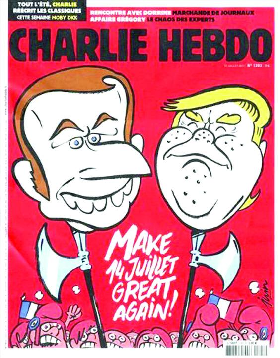 charlie hebdo Un american dificil la Paris