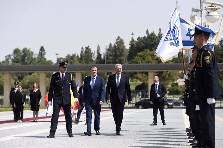 dragnea israel Liderul PSD, in deplasare pe pamantul sfant