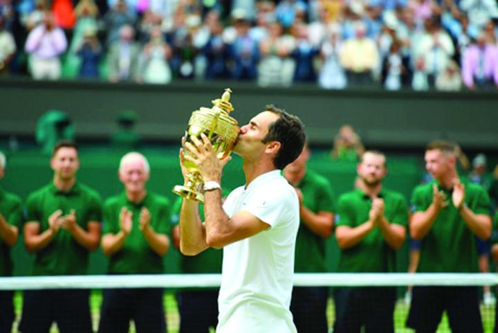 federer Roger Federer face istorie!